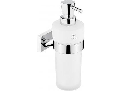 Nimco Keira dávkovač na tekuté mýdlo, matované sklo-chrom KE 22031W-T-26