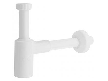 CRONO Umyvadlový sifon 1'1/4, odpad 32 mm, bílá 1910.111.5