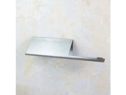 Bemeta Niva držák toaletního papíru s poličkou, mat, 101104015
