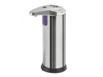 Bezdotykový dávkovač mýdla na postavení, 240 ml, 74x184x113mm, nerez 2293