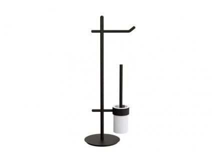 lineabeta stela stojan s wc kartacem a drzakem na toaletni papir cerna 51111 18
