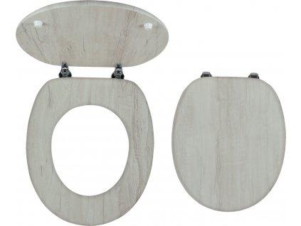 Novaservis WC sedátko, dýhované MDF, panty kov-chrom  WC/DUBVELVET