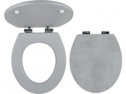Novaservis WC sedátko, MDF s potiskem, panty kov-chrom WC/SOFTSTONE1