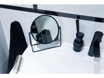 Olsen Spa Kosmetické zrcátko stojací, černé KD02091468