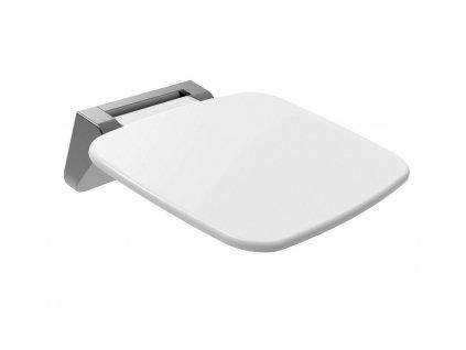 SAAP sprchové sedátko, 35x32,8cm, sklopné, bílá CW1110W