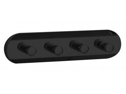 SAMBA čtyřháček, černá SB224