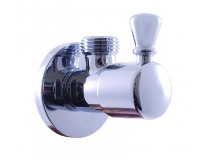 Rav rohový ventil s keramickým vrškem chrom ROH001