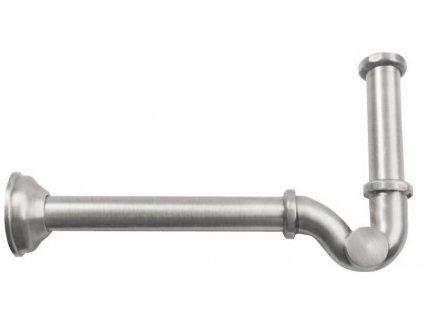 Bidetový sifon 1'1/4, odpad 32mm, nikl 9608