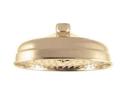 Rav hlavová sprcha kulatá kovová 20 cm zlato KS0020Z