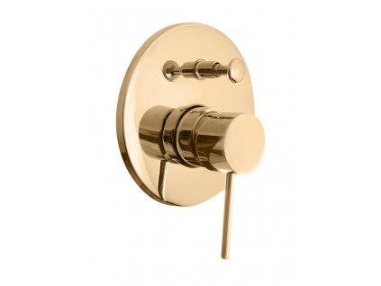 slezak rav seina vodovodni baterie vanova sprchova vestavena s prepinacem zlato se986z