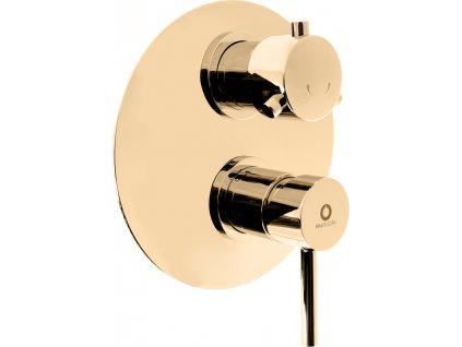 slezak rav seina vodovodni baterie vanova sprchova vestavena s prepinacem zlato se986kz