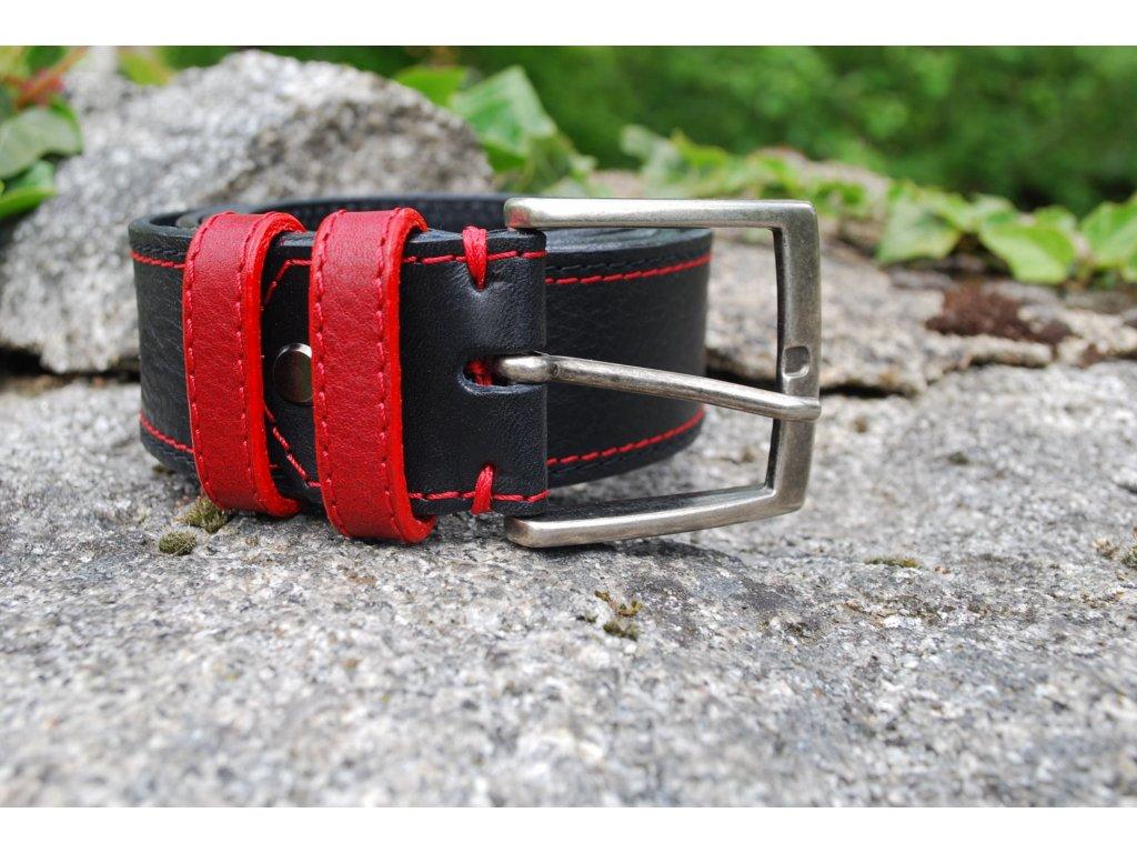 Opasek Red and Black