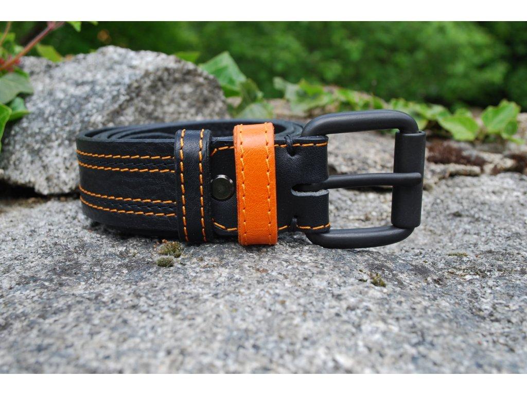 Opasek Black with orange