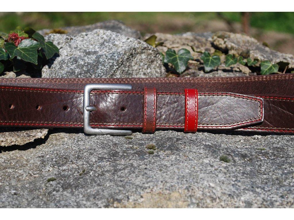 Opasek Red and Brown
