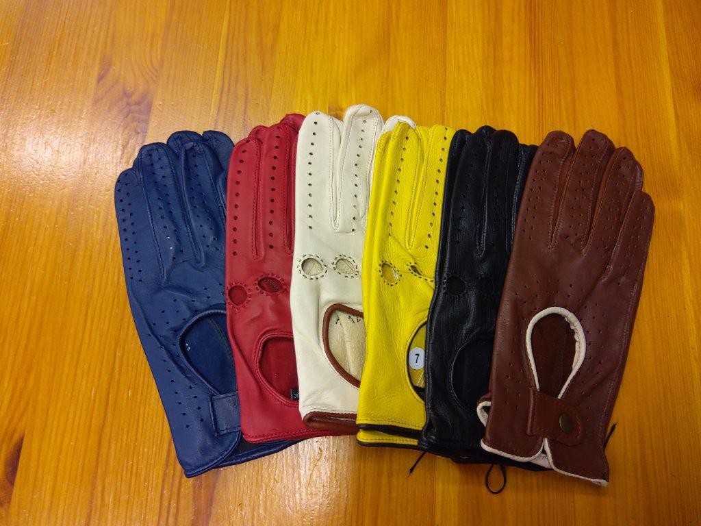 Řidičské rukavice dámské