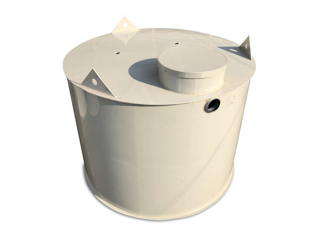 15m3 samonosná kruhová nádrž na vodu