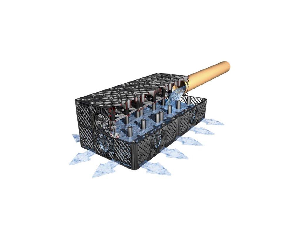Vsakovací blok 300l - Garantia Rain Bloc Compact