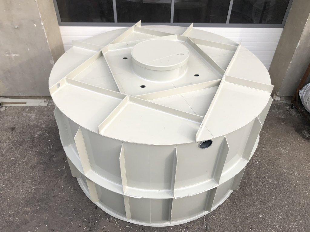 8m3 samonosný kruhový septik