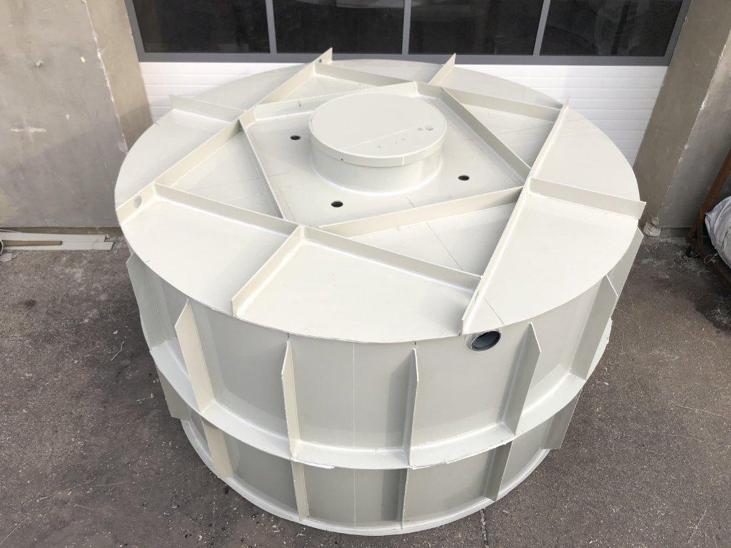 15m3 samonosný kruhový septik