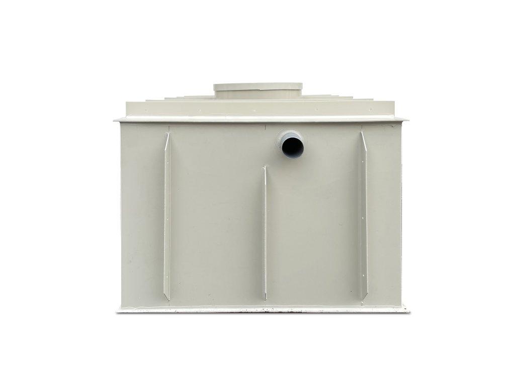 10m3 hranatý septik k obetonování