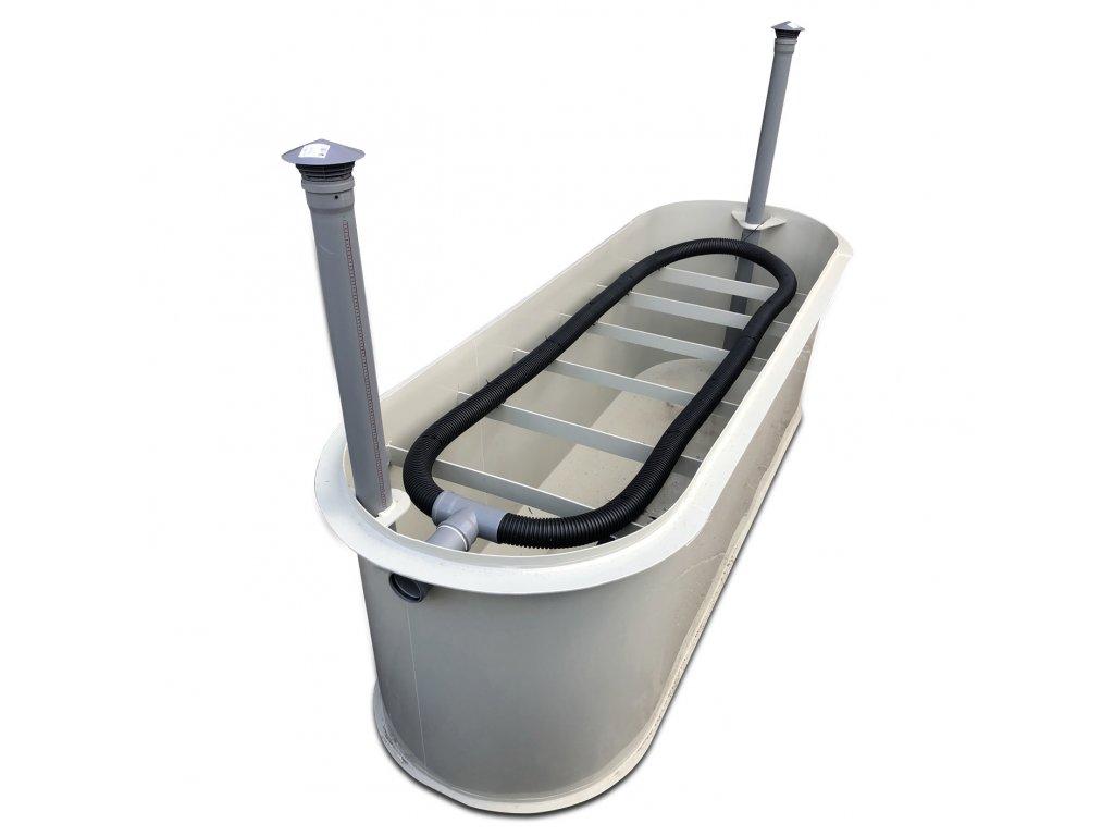 zemní pískový filtr pro 9-12 osob