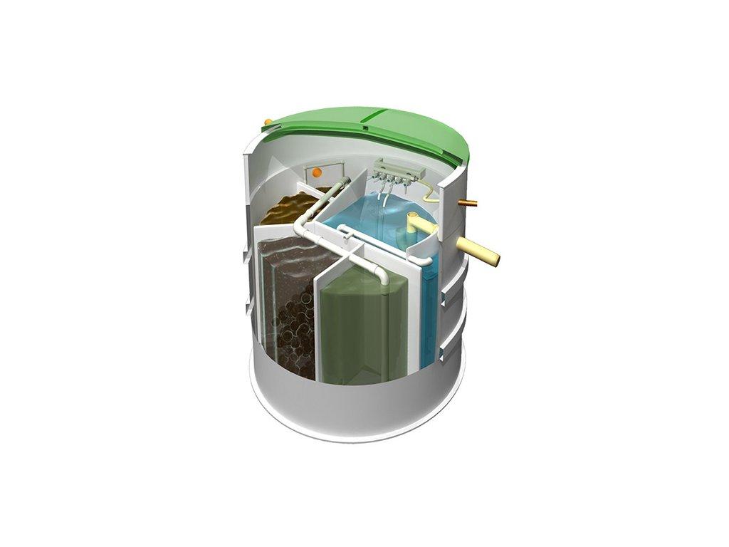 Čistička odpadních vod pro 2-5 osob - AT6