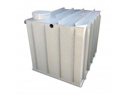 5m3 hranatá nádrž na vodu k obetonování