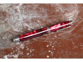 Kuličkové pero Adam Červeno- černé