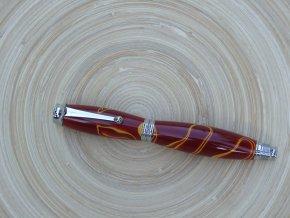 Plnící pero Adam - Červeno-žluté