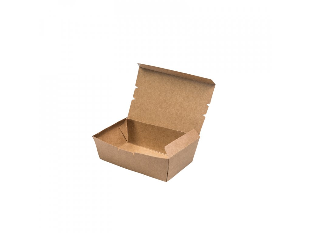 Paper Lunch Box Kraft M