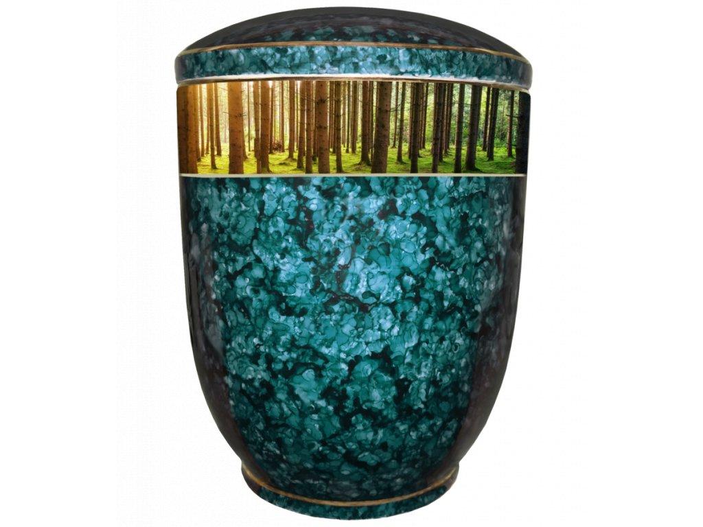 Urna Diamant barevná - stromy
