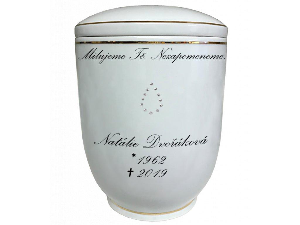 Urna Diamant Swarovski