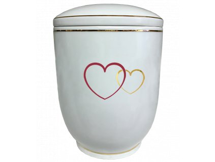 Urna Diamant - dvě srdce