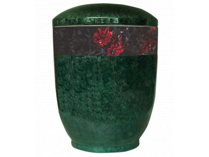 urna zelena ruze