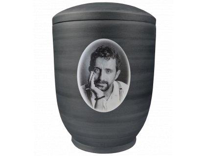 urna biskvit cerna foto