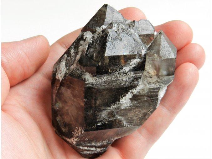 Oboustranně vyvinutý Mistrovský krystal záhnědy - Elestial Dar andělů