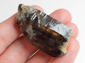morion temny cerny kamen krystal cesky prirodni surovy vysociny obrazek 1