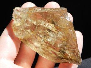 citrin krystal katedralovy pravy cesky zluty kamen mineral vysocina knezeves na frantisku prodej obrazky 1