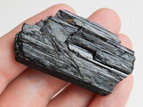 cerny turmalin skoryl podlouhly plochy mineral kamen prodej obrazky 1