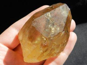 citrin pravy cesky sbirkovy kamen krystal zluty zlatavy medovy kvalitni prodej knezeves frantisku obrazky 1