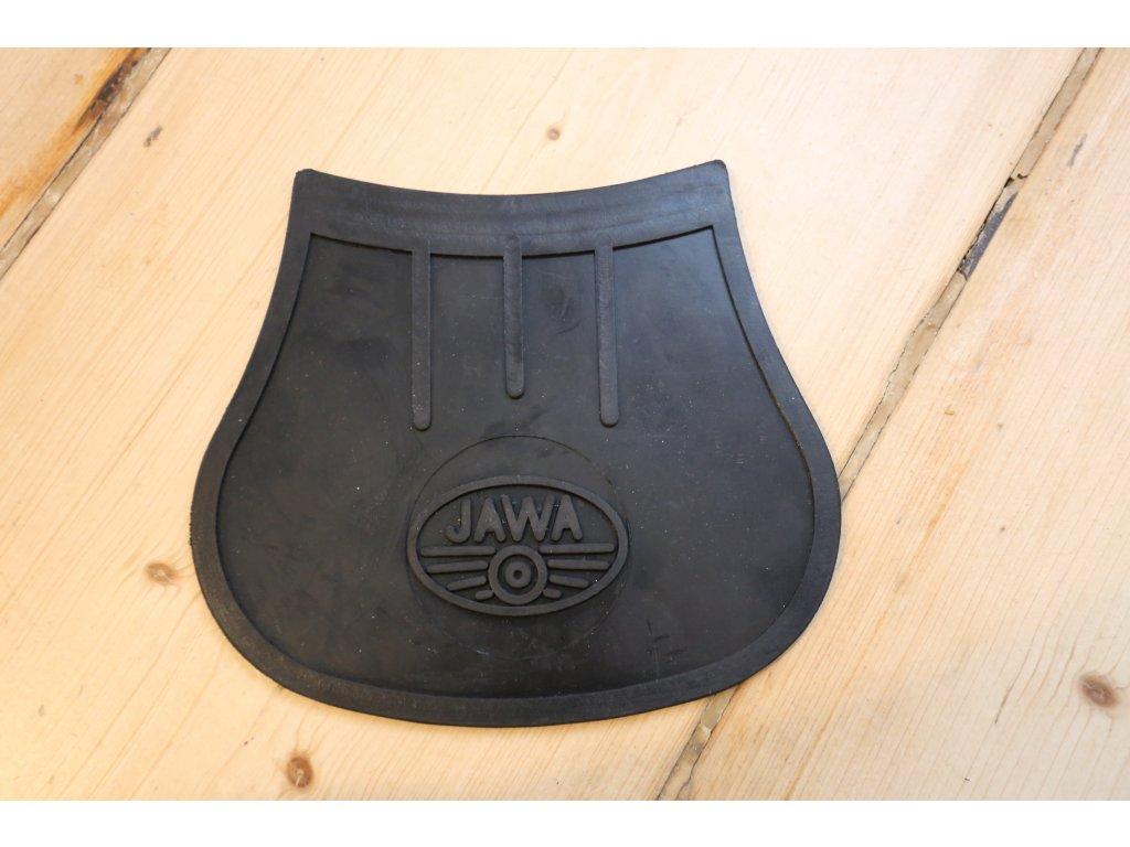 Zástěrka blatníku - logo JAWA (kýv, pan) profilovaná
