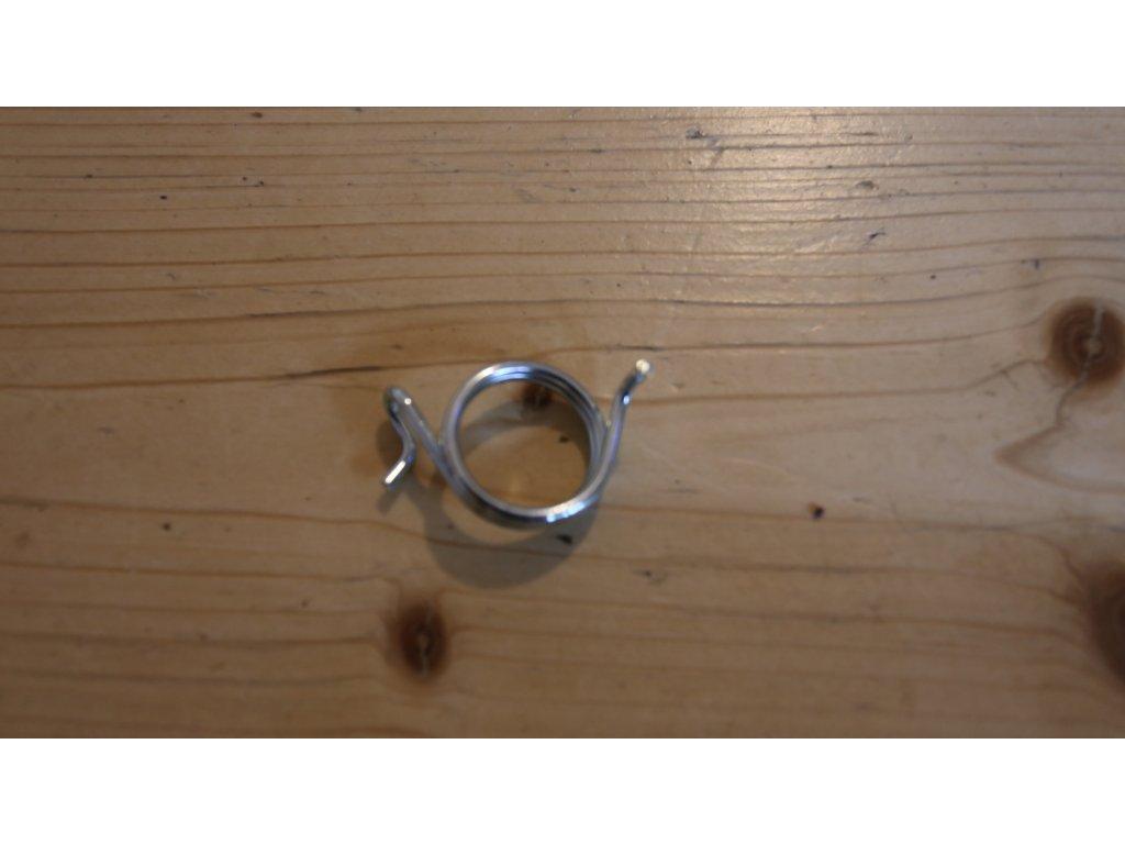 Pružina ramínka brzdy - dvouklíč (Jawa, ČZ) zinek