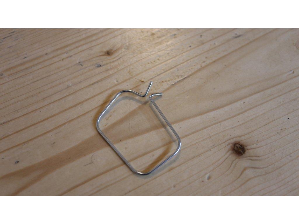 Objímka manžety řetězu - přední ( Jawa 634-640 )