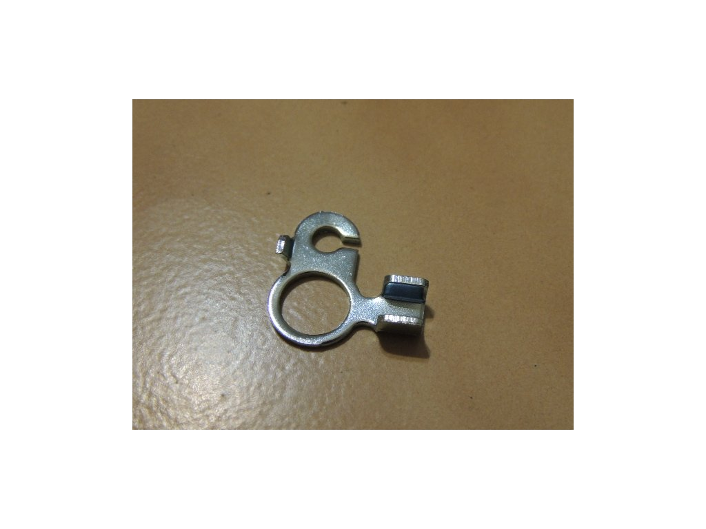 Opěrka bowdenu zadní brzdy (Jawa 634-640)