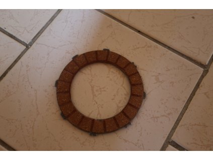 Lamela spojky - ferodo (JAWA, ČZ 125, 175)