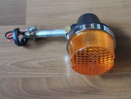 Blikač kulatý s tyčkou 77mm (Jawa 638) černý