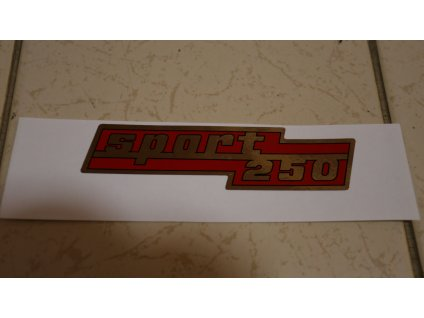 "Samolepka ""Sport 250"""