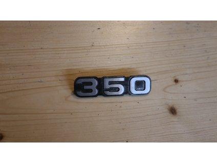 Štítek schránky - logo 350 (Jawa 634)