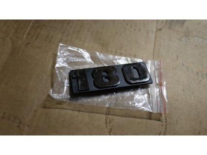 Označení typové 180 (černé)