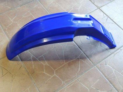 Blatník přední - modrý (Jawa Tramp, ČZ 180 Roland)